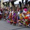 Danza afrocaribea de Bermudas, los Gombeys en accin. Foto Flickr de skipin2insanity