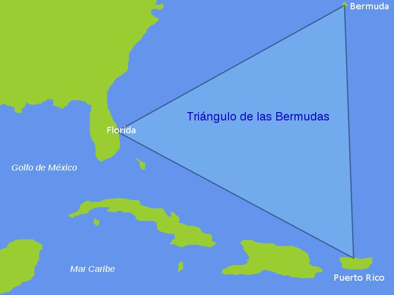 El mito del Triángulo de las Bermudas
