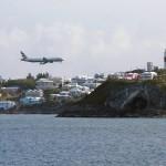Llegar a las Islas Bermudas en avión