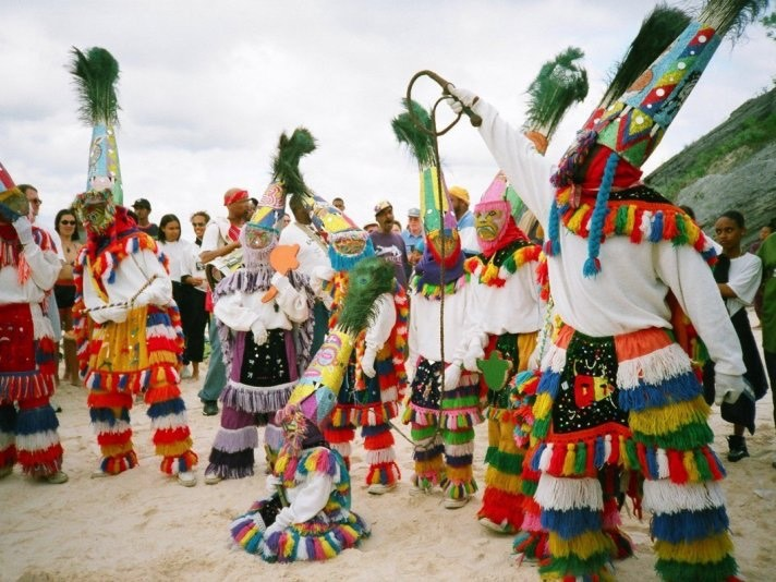 El baile del Gombay es uno de los atractivos culturales más importantes de las Islas Bermudas.